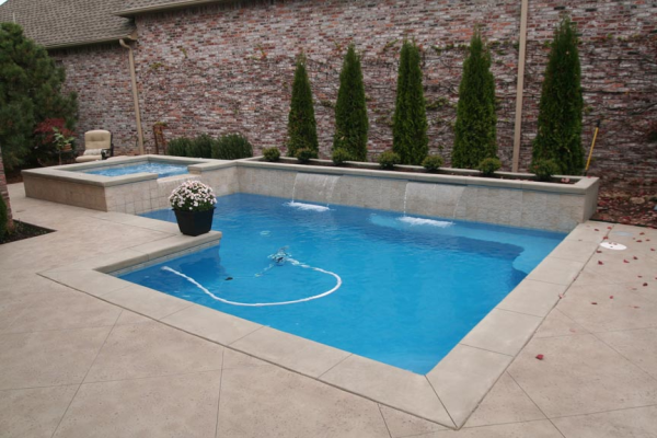 What is pool coping for Painting aluminum swimming pool coping