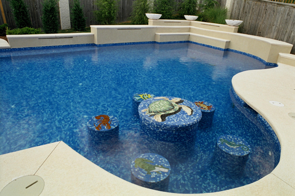 Swimming pool interiors, what is best?