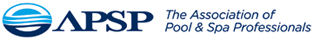 APSP pool association logo