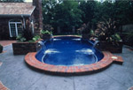 All tiled pool interior